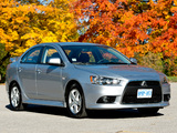 Pictures of Mitsubishi Lancer SE US-spec 2012