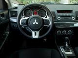 Mitsubishi Lancer Ralliart 2008 wallpapers