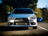 Mitsubishi Lancer Sportback Ralliart US-spec 2009 wallpapers