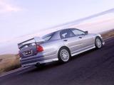 Mitsubishi Magna Ralliart 1996–2000 pictures