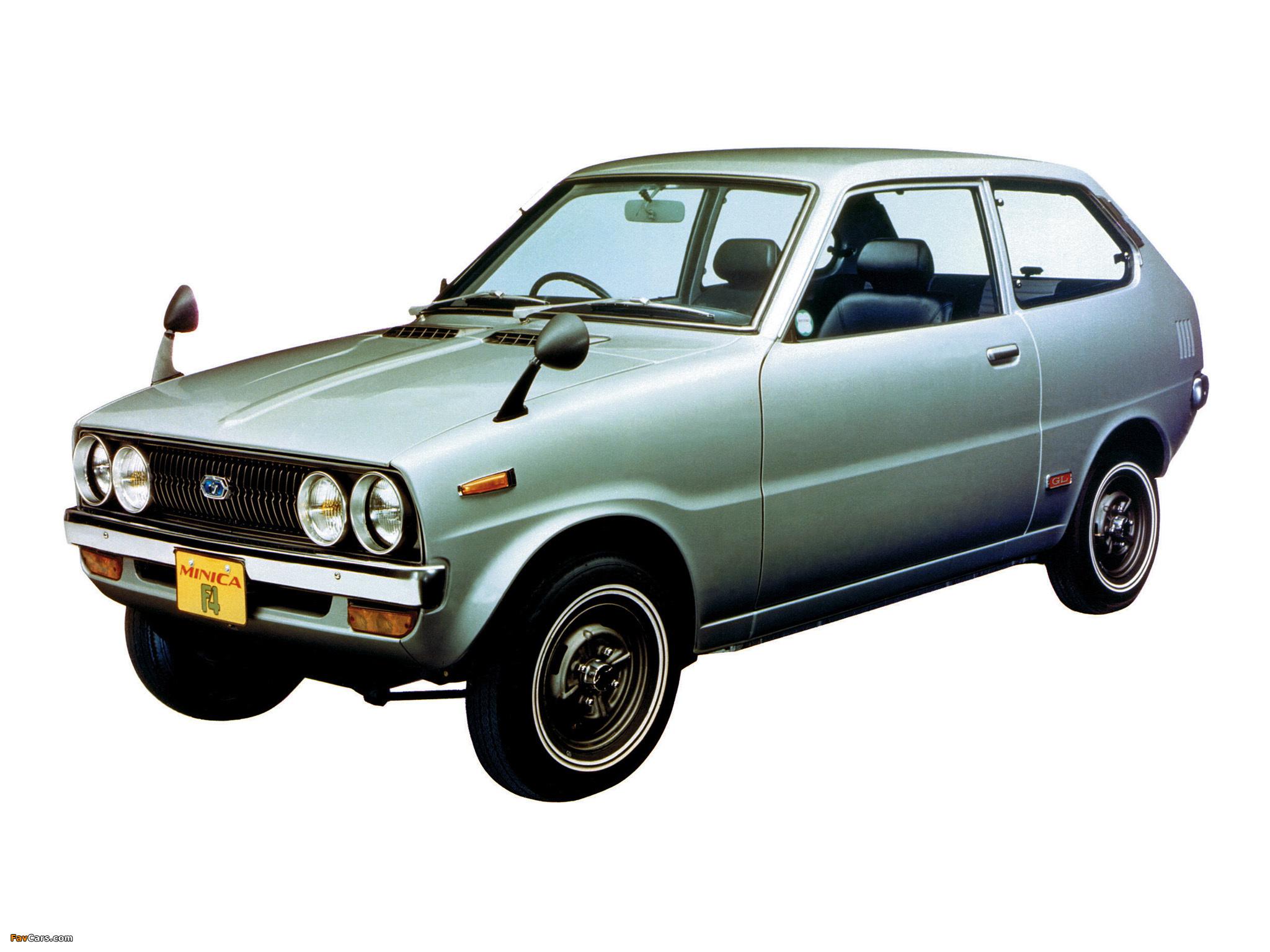 Images of Mitsubishi Minica F4 1972–76 (2048 x 1536)