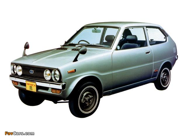 Images of Mitsubishi Minica F4 1972–76 (640 x 480)