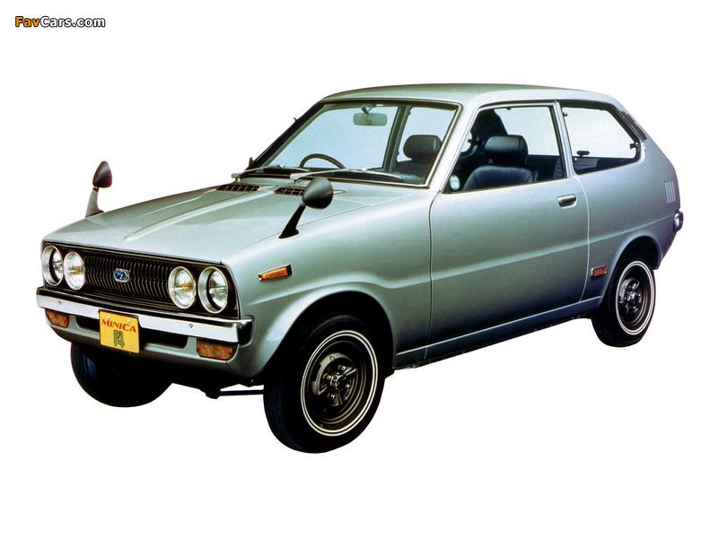 Images of Mitsubishi Minica F4 1972–76 (800 x 600)