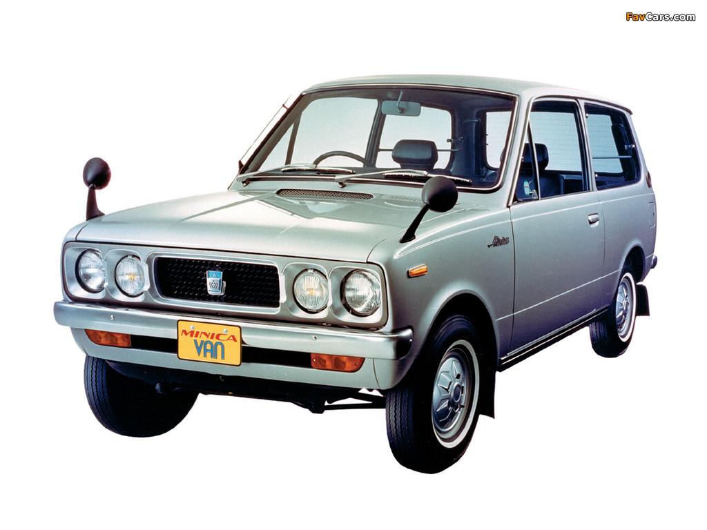 Images of Mitsubishi Minica Van 1973–76 (1024 x 768)