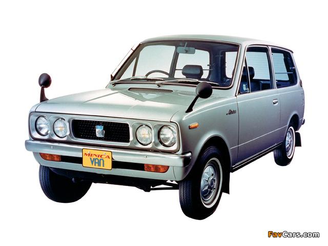 Images of Mitsubishi Minica Van 1973–76 (640 x 480)