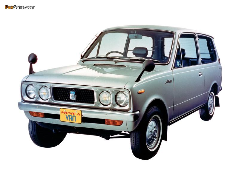 Images of Mitsubishi Minica Van 1973–76 (800 x 600)