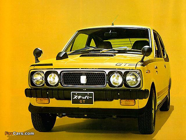 Mitsubishi Minica Skipper GT 1971–74 wallpapers (640 x 480)