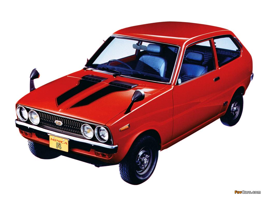 Mitsubishi Minica F4 1972–76 photos (1024 x 768)