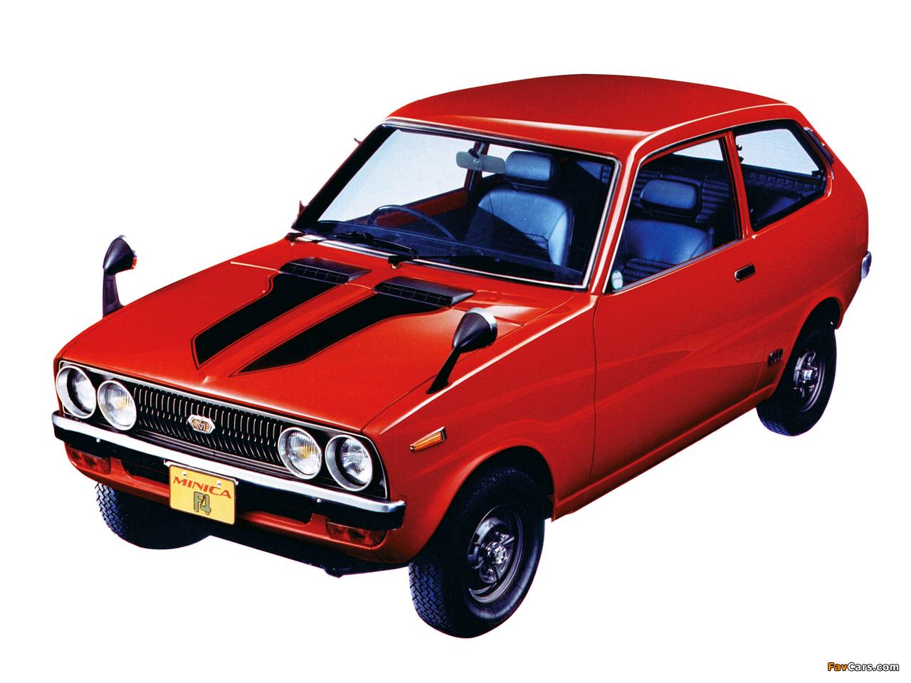 Mitsubishi Minica F4 1972–76 photos (1280 x 960)