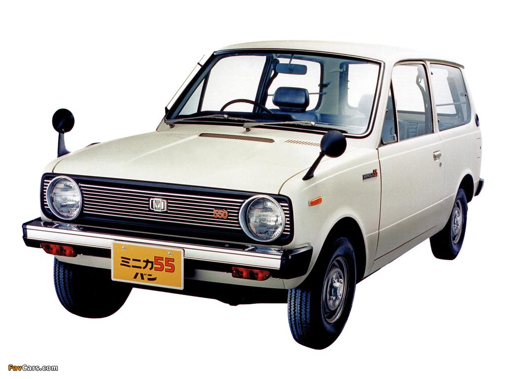 Mitsubishi Minica 55 Van 1977–81 photos (1024 x 768)