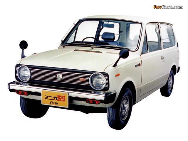 Mitsubishi Minica 55 Van 1977–81 photos (640 x 480)
