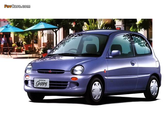 Mitsubishi Minica Guppy (H31A/H36A) 1994–98 images (640 x 480)