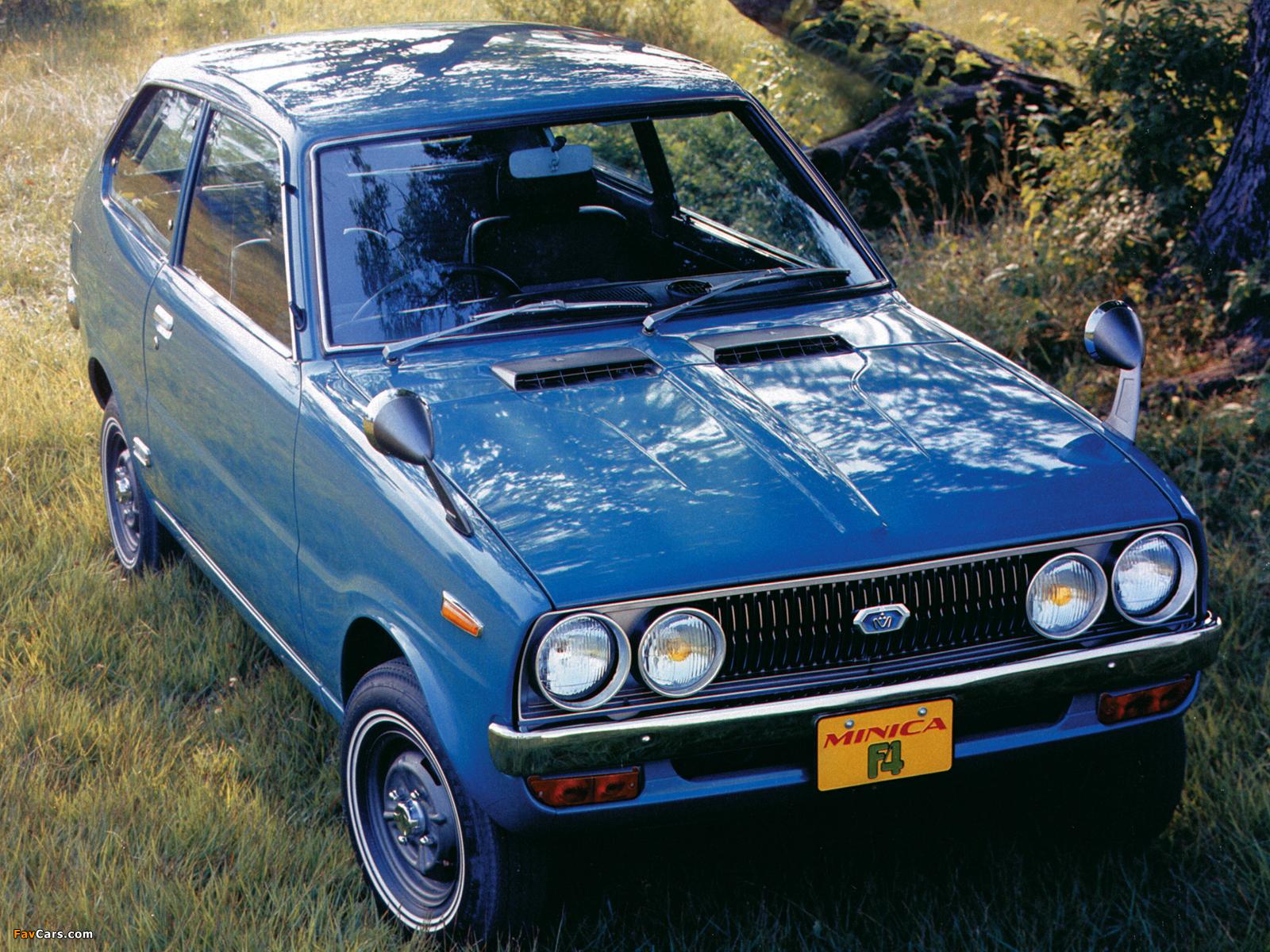Photos of Mitsubishi Minica F4 1972–76 (1600 x 1200)