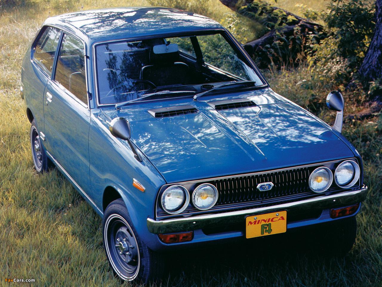 Photos of Mitsubishi Minica F4 1972–76 (1280 x 960)