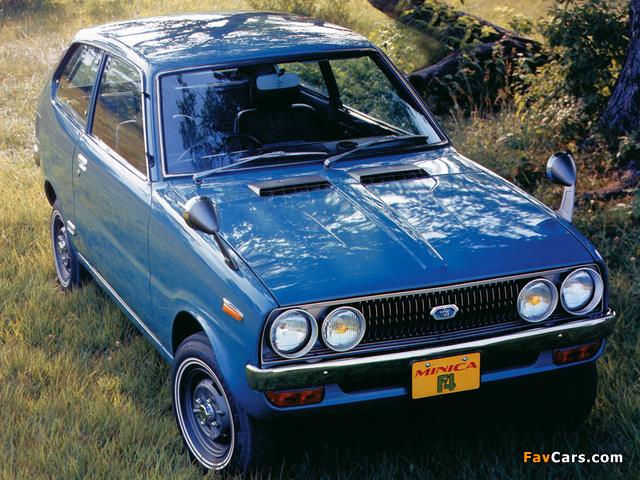 Photos of Mitsubishi Minica F4 1972–76 (640 x 480)
