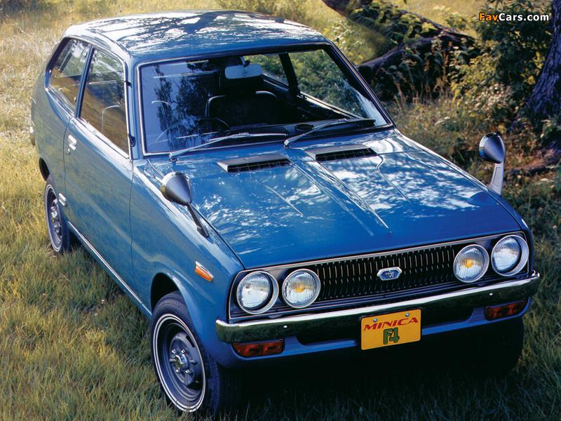 Photos of Mitsubishi Minica F4 1972–76 (800 x 600)