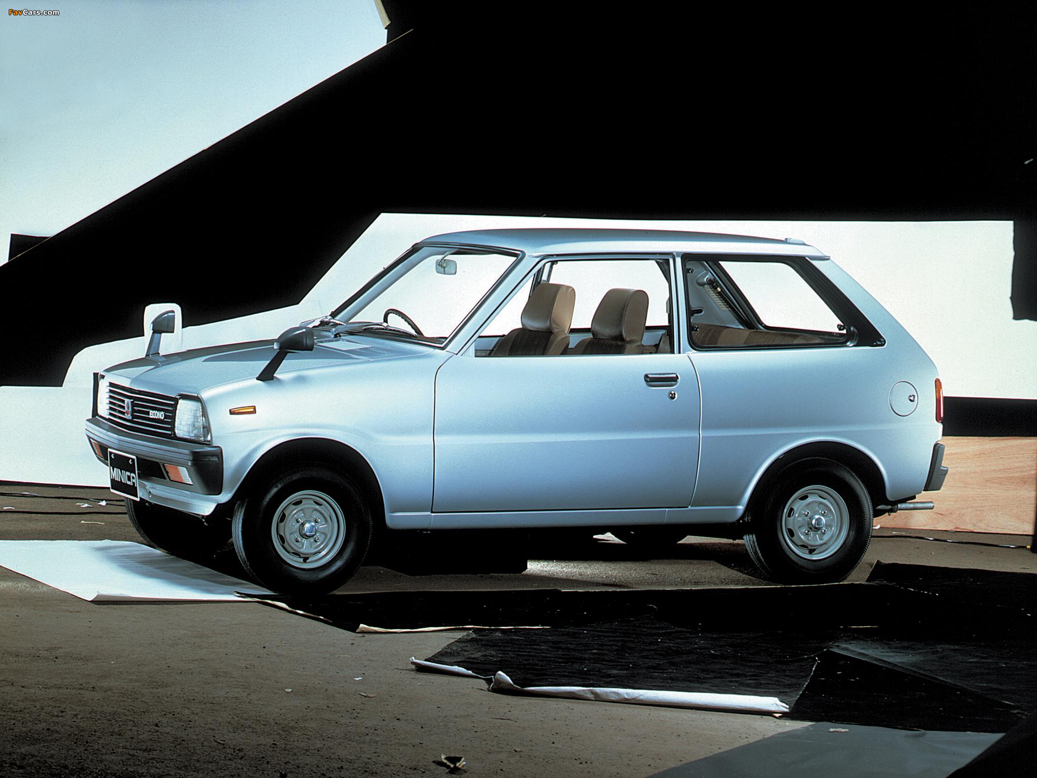 Pictures of Mitsubishi Minica Econo 1981–84 (2048 x 1536)
