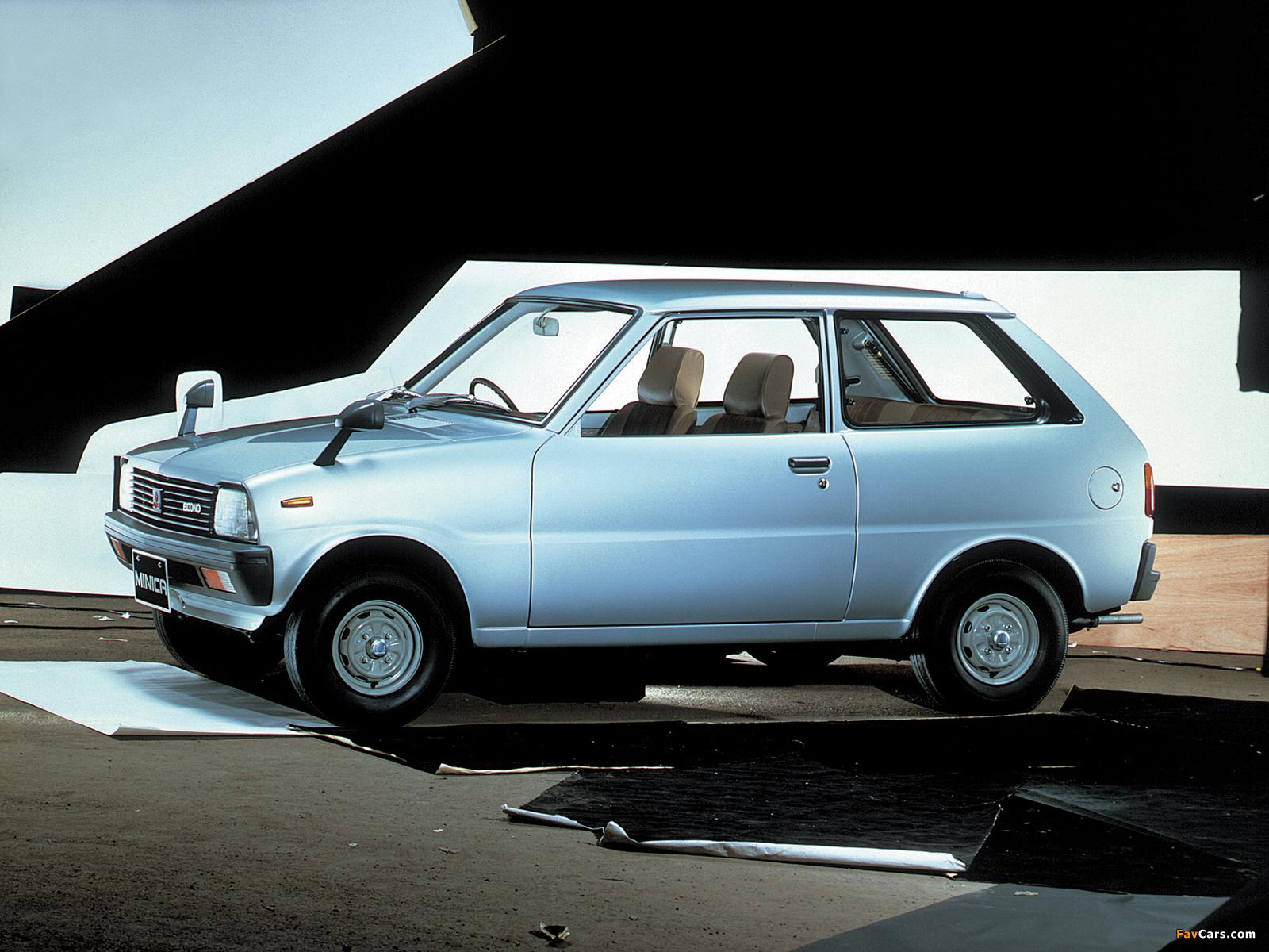 Pictures of Mitsubishi Minica Econo 1981–84 (1600 x 1200)