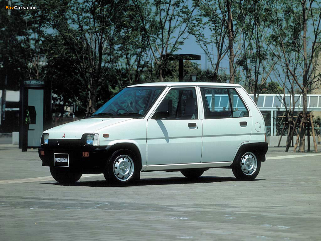Pictures of Mitsubishi Minica 1984–89 (1024 x 768)
