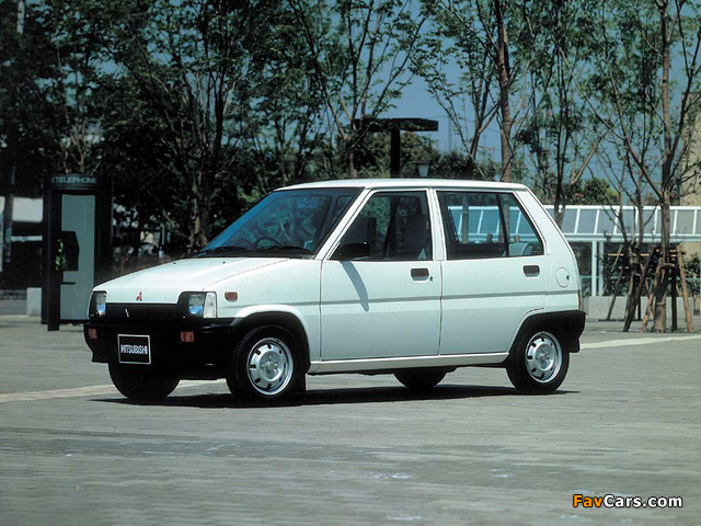 Pictures of Mitsubishi Minica 1984–89 (640 x 480)