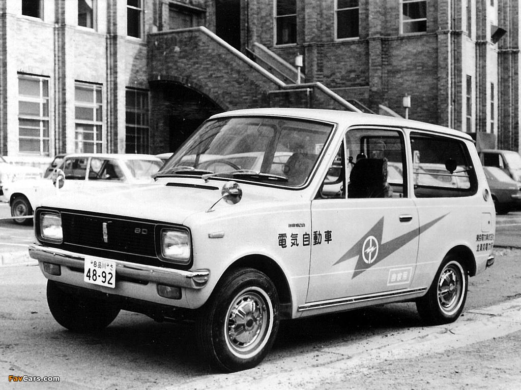 Mitsubishi Minica Van EV 1971 wallpapers (1024 x 768)