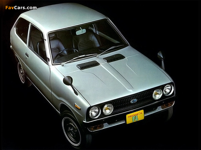Mitsubishi Minica F4 1972–76 wallpapers (640 x 480)