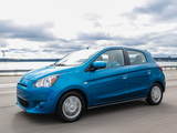 Mitsubishi Mirage US-spec 2013 images