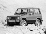 Mitsubishi Montero 3-door US-spec (L040) 1983–86 photos