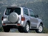 Mitsubishi Montero 3-door 1999–2006 wallpapers