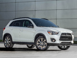 Mitsubishi Outlander Sport Limited Edition 2012 wallpapers