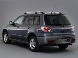 Images of Mitsubishi Outlander 2003–06
