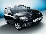 Images of Mitsubishi Outlander Turbo 2004–06