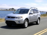 Images of Mitsubishi Outlander US-spec 2007–09