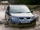 Images of Mitsubishi Outlander UK-spec 2007–09