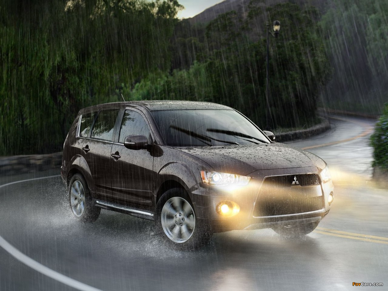 Images of Mitsubishi Outlander US-spec 2009 (1280 x 960)