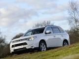 Images of Mitsubishi Outlander UK-spec 2013