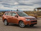 Images of Mitsubishi Outlander US-spec 2013