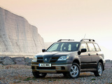 Mitsubishi Outlander UK-spec 2003–06 pictures