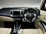 Mitsubishi Outlander JP-spec 2005–12 photos