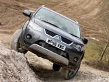 Mitsubishi Outlander UK-spec 2007–09 images