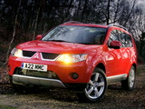 Mitsubishi Outlander UK-spec 2007–09 images