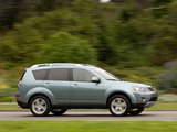 Mitsubishi Outlander US-spec 2007–09 images