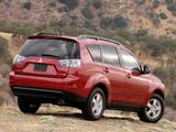 Mitsubishi Outlander US-spec 2007–09 images