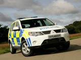 Mitsubishi Outlander UK Police 2007–09 images