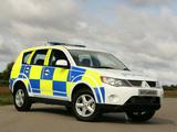 Mitsubishi Outlander UK Police 2007–09 pictures