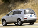 Mitsubishi Outlander US-spec 2007–09 wallpapers