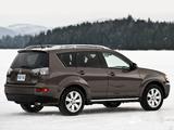 Mitsubishi Outlander US-spec 2009 images