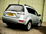 Mitsubishi Outlander UK-spec 2009–12 images