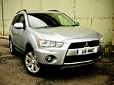 Mitsubishi Outlander UK-spec 2009–12 pictures