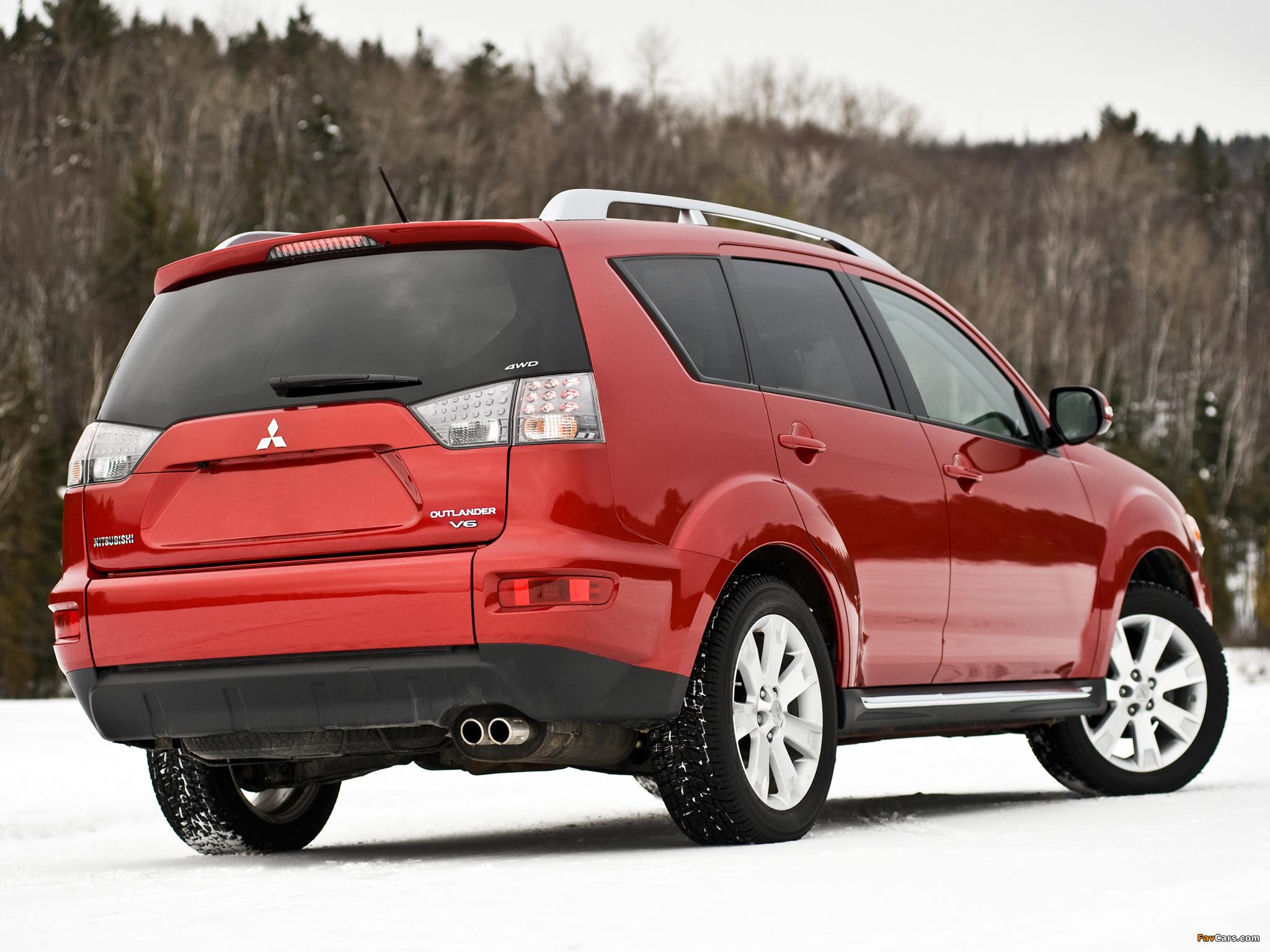 Mitsubishi Outlander US-spec 2009 pictures (2048 x 1536)